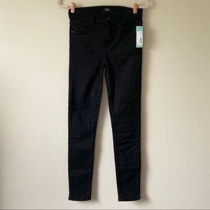 AGOLDE Hi Rise Sophie Skinny Jeans black Sz 28